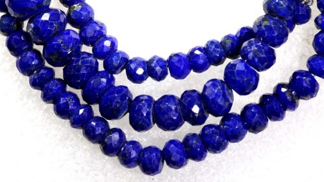 118CTS BLUE LAPIS BEADS  PG-2200