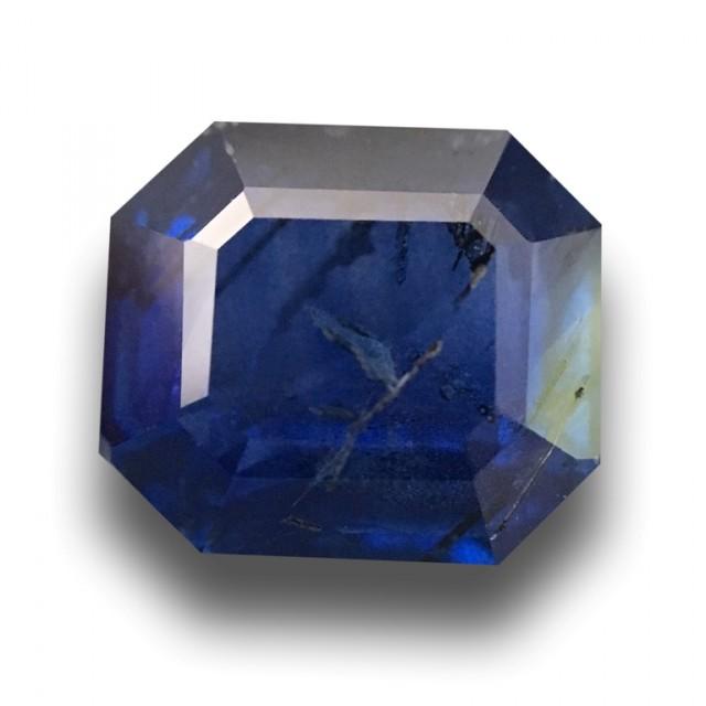 Natural Blue Blue Sapphire  Loose Gemstone New Certified  Sri Lanka