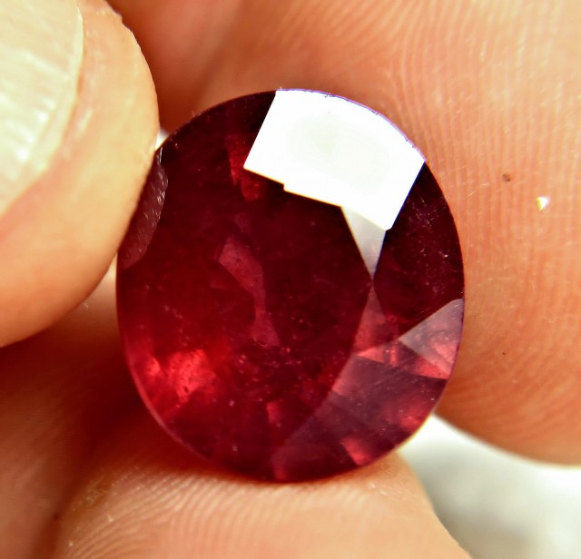 17.2 Carat Fiery Genuine Ruby - Superb