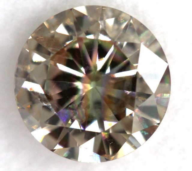 0.76CTS  CHAMPAGNE DIAMOND FACETED SD-267
