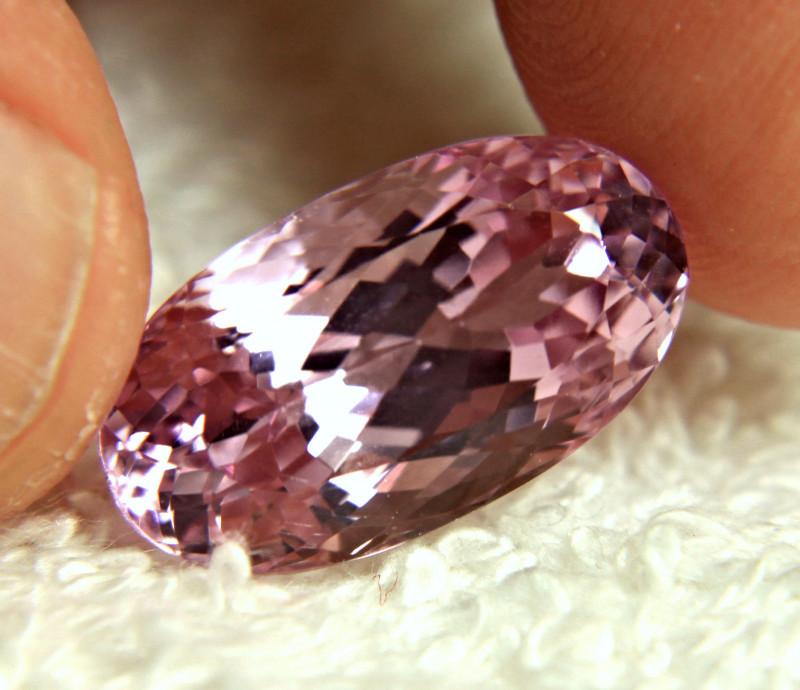 14.50 Carat VVS Pink Himalayan Kunzite - Superb