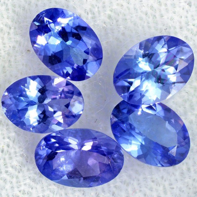 3 CTS TANZANITE  MIXED PARCEL - WELL CUT [STS812]