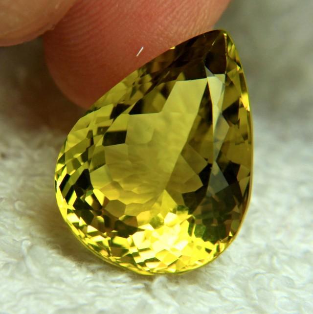 28.42 Carat African VVS Lemon Quartz - Gorgeous