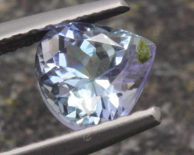 0.93ct Tanzanite Pear Cut Natural Blue Tanzanite