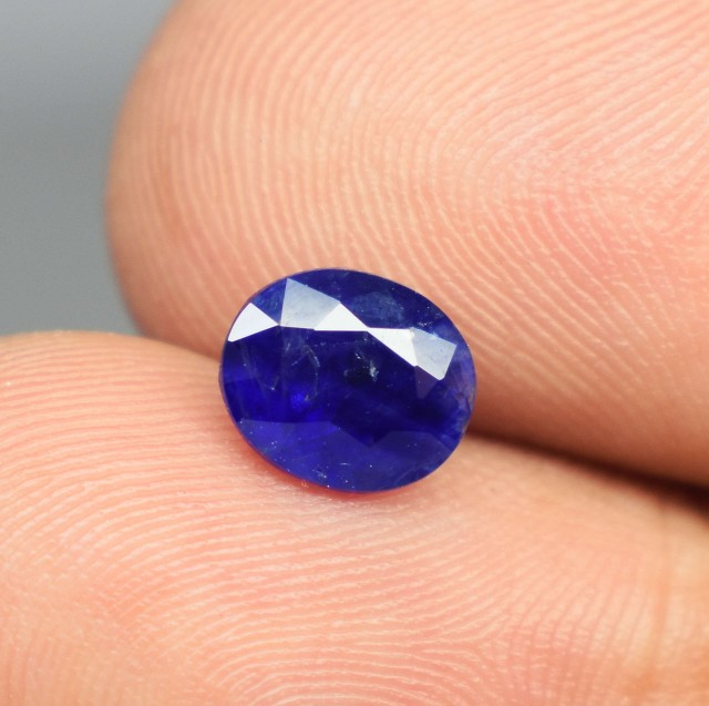 1.50 Carats Natural Blue Sapphire Unheated Untreated Gemstone