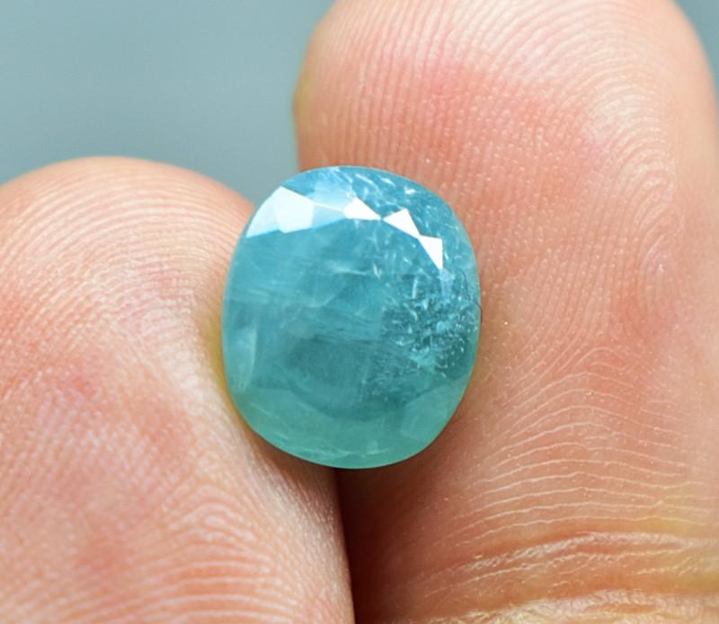 3.5 CTS AMAZING NATURAL Blue Grandidierite GEMSTONE