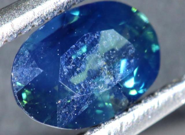 0.77CTS UNHEATED AUSTRALIAN BLUE SAPPHIRE CERTIFIED TBM-1313
