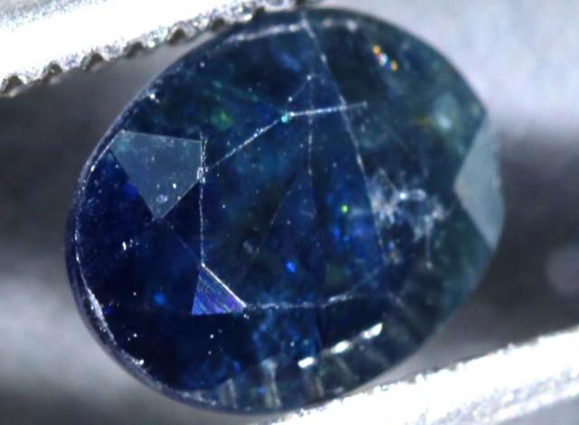 1.20CTS UNHEATED AUSTRALIAN BLUE SAPPHIRE CERTIFIED TBM-1318