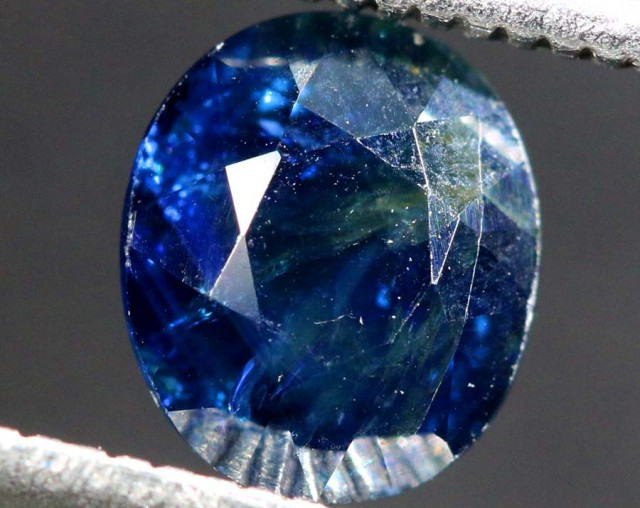 1.64CTS UNHEATED AUSTRALIAN BLUE SAPPHIRE FACETED CERTIFIED PG-2234