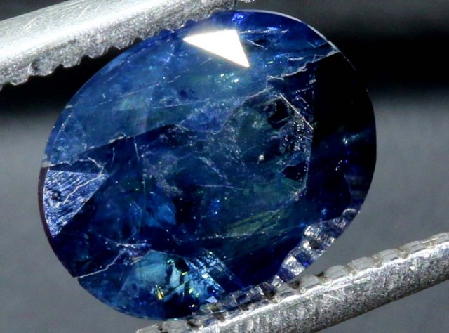 2.06 CTS AUSTRALIAN BLUE SAPPHIRE FACETED CERTIFIED PG-2242