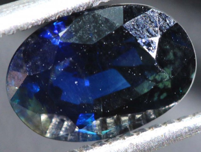 1.62CTS UNHEATED AUSTRALIAN BLUE SAPPHIRE FACETED CERTIFIED PG-2246