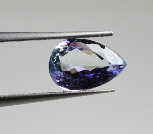 Natural Tanzanite - 1,17 carats - Gemstone