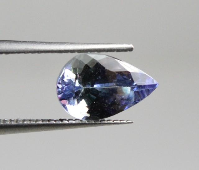 Natural Tanzanite - 1,10 carats - Gemstone