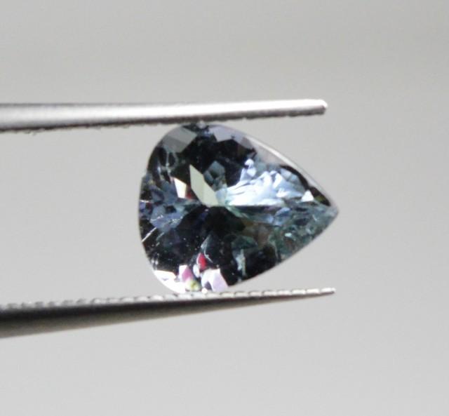 Natural Tanzanite - 1,03 carats - Gemstone