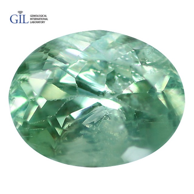 0.30 CT Mind Blowing! GIL CERTIFIED Natural COLOR Change Green To Red Alexa