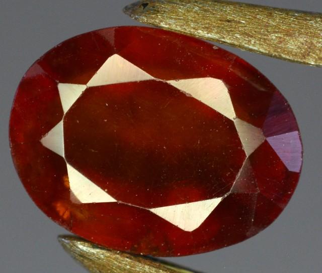 3.5 Crt Hessonite Garnet Gemstone ~ Africa