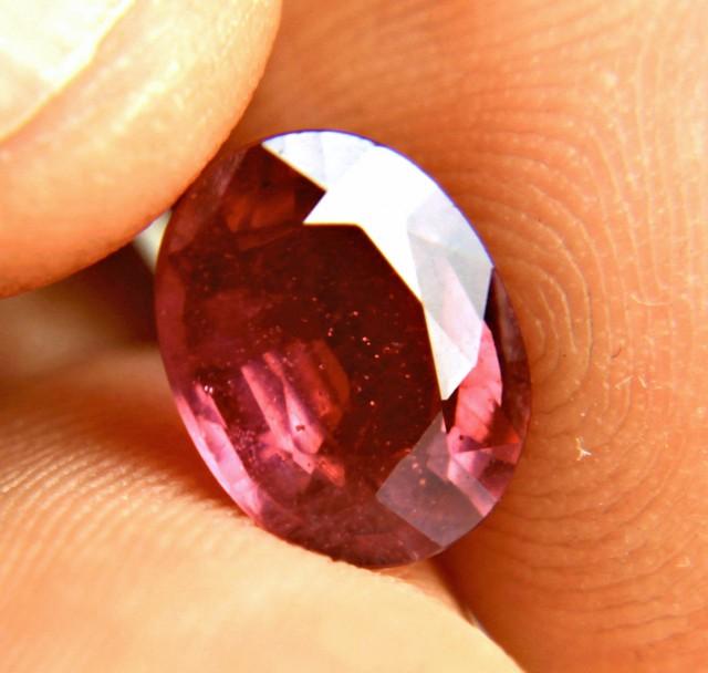 3.58 Carat Fiery Red Ruby
