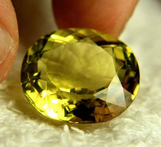 27.65 Carat VVS African Lemon Quartz - Gorgeous