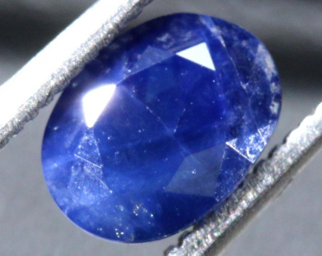 1.8CTS UNHEATED CERTIFIED AUSTRALIAN BLUE SAPPHIRE FACETED  PG-2252