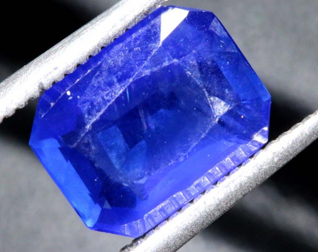2.97CTS UNHEATED BURMESE  CERTIFIED  SAPPHIRE FACETED TBM-1319