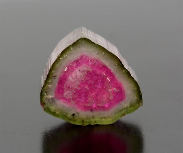 7.30 Cts Gorgeous Watermelon Tourmaline Slice @ Afghanistan