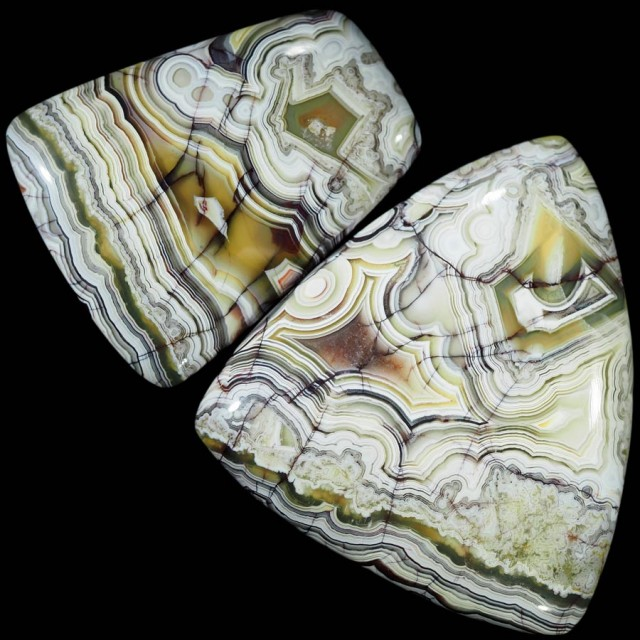 111.75 CTS TOP GRADE CRAZY AGATE POLISHED  STONE[MGW5211]
