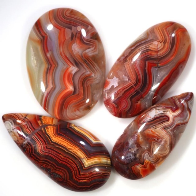 59.90 CTS TOP GRADE CRAZY AGATE POLISHED  STONE[MGW5216]