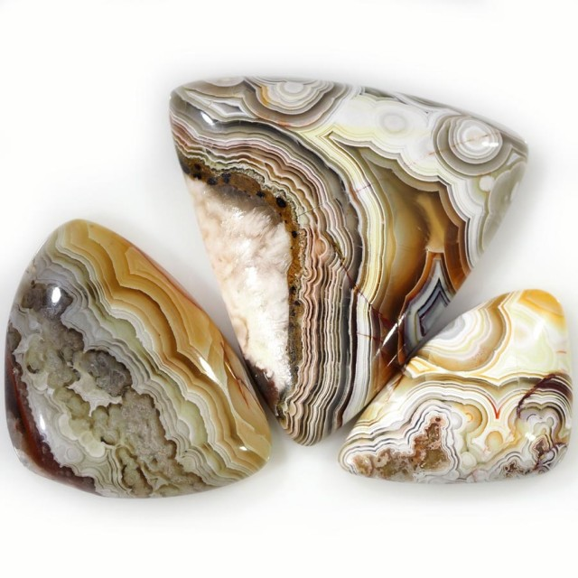 86.55 CTS TOP GRADE CRAZY AGATE POLISHED  STONE[MGW5242]