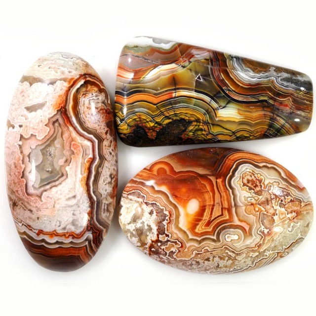 62.05 CTS TOP GRADE CRAZY AGATE POLISHED  STONE[MGW5251]4