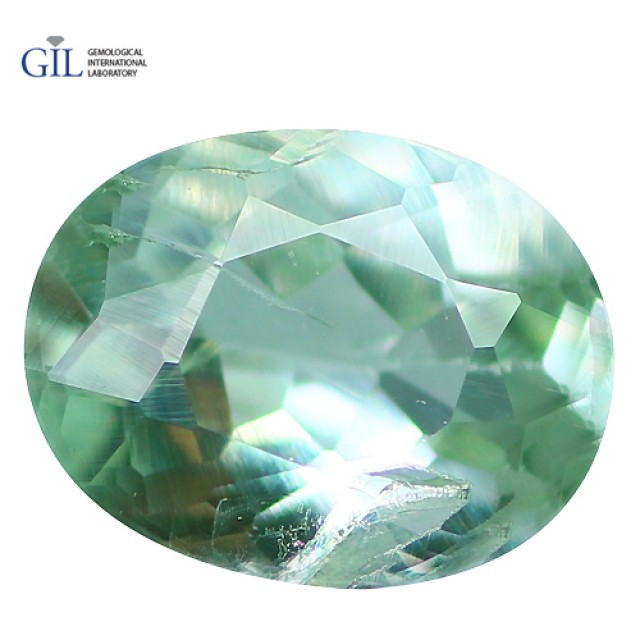 0.41 CT Flawless ! GIL CERTIFED Natural COLOR Change Green To Red Alexandri