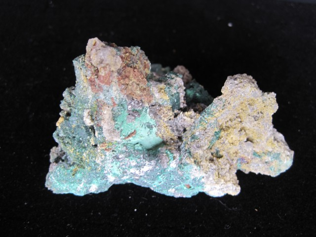 Malachite Pseudomorph after Azurite with Cerrusite Tsumeb Mine Namiba