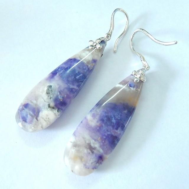 New Design,Earrings For Women,Sterling 925 Silver Tiffany Teardrop Earrings