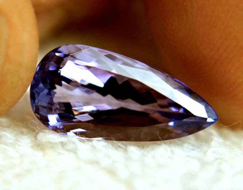 CERTIFIED - 6.30 Carat African VVS1 Tanzanite