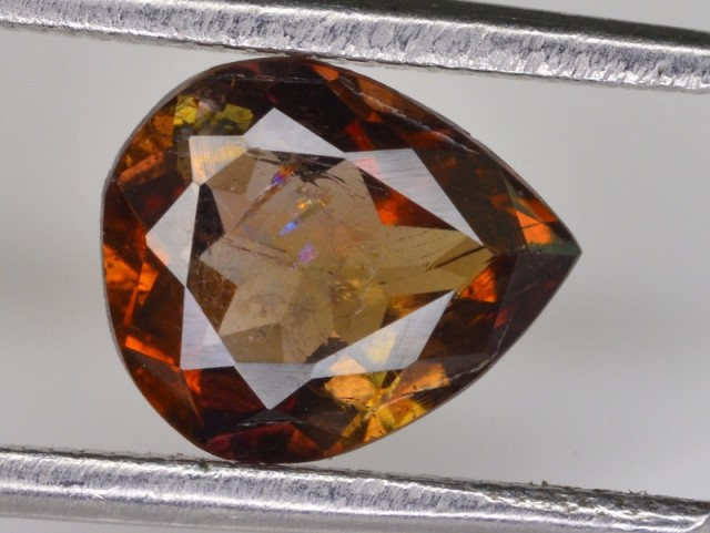 1.25 CT Amazing Natural Rare Axinite Gemstone