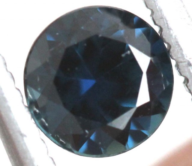 0.7 CTS AUSTRALIAN BLUE SAPPHIRE FACETED  PG-2292
