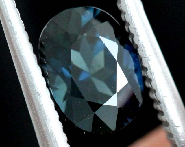 1.05 CTS AUSTRALIAN BLUE SAPPHIRE FACETED  PG-2293