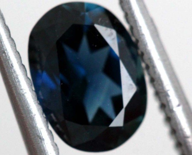 0.9 CTS AUSTRALIAN BLUE SAPPHIRE FACETED  PG-2298/