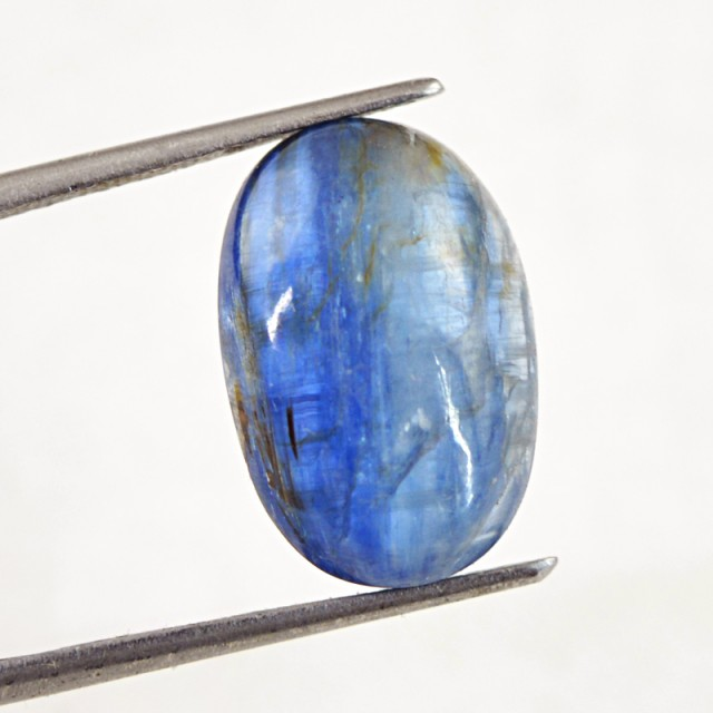 Genuine 12.00 Cts Oval Shape Kyanite Cab