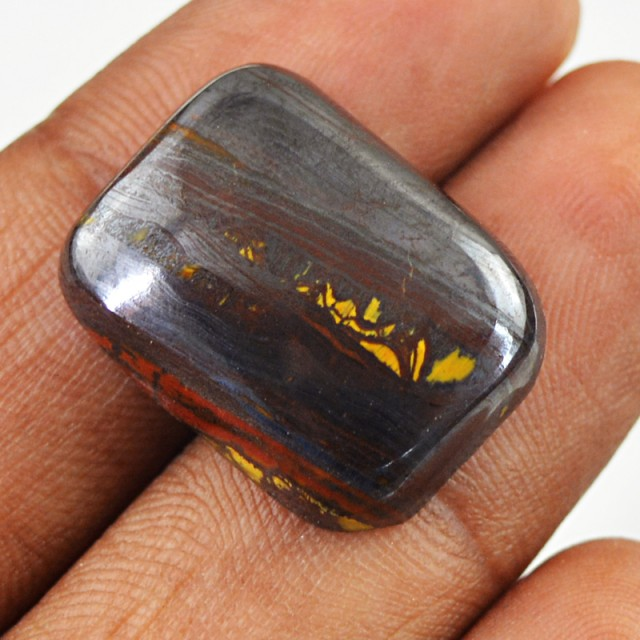 Genuine 24.00 Cts Iron Tiger Eye Untreated Cab