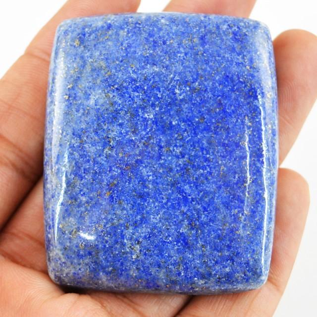 Genuine 250.50 Cts Blue Lapis Lazuli Cab