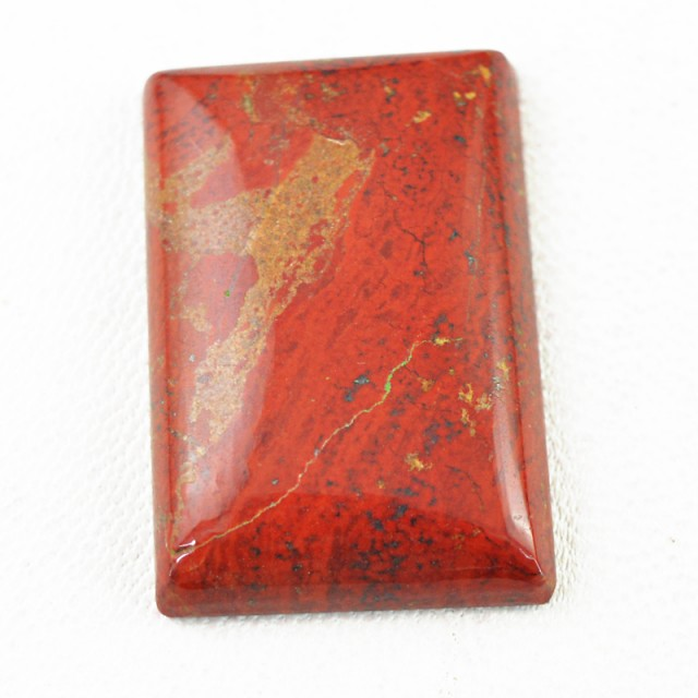 Genuine 33.00 Cts Red Jasper Rectangular Shape Cab