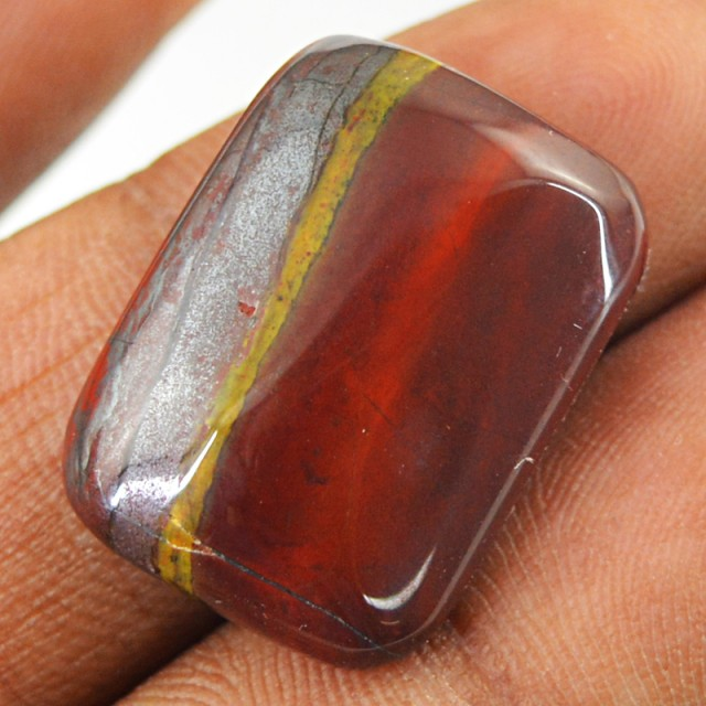 Genuine 17.50 Cts Iron Tiger Eye Untreated Cab