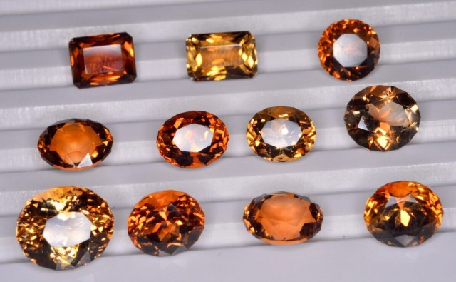 50 CT SUPERB NATURAL BROWN TOPAZ GEMSTONE