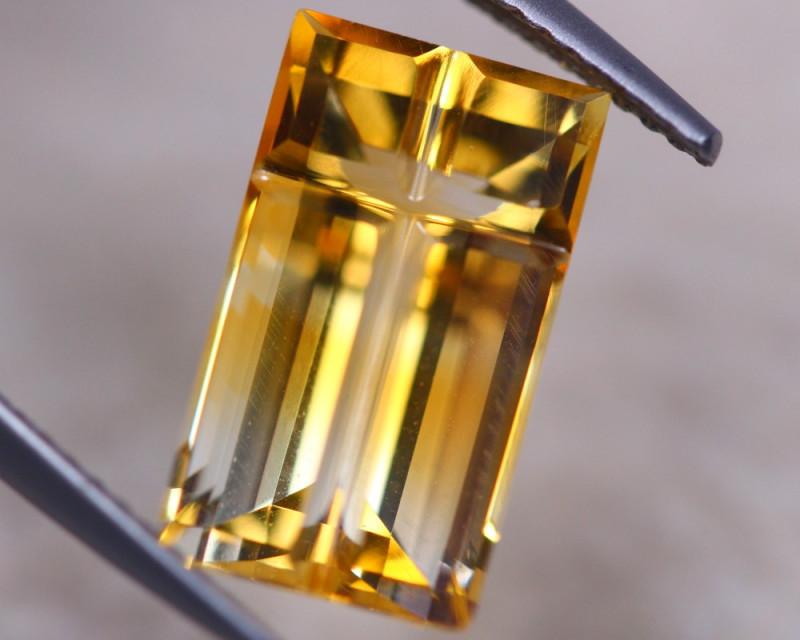 4.74ct Natural Yellow Citrine Fancy Cut Lot D532