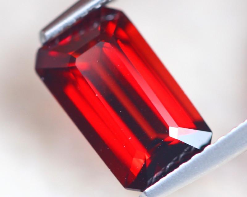 2.36Ct Natural Almandine Garnet Octagon Cut Lot D527