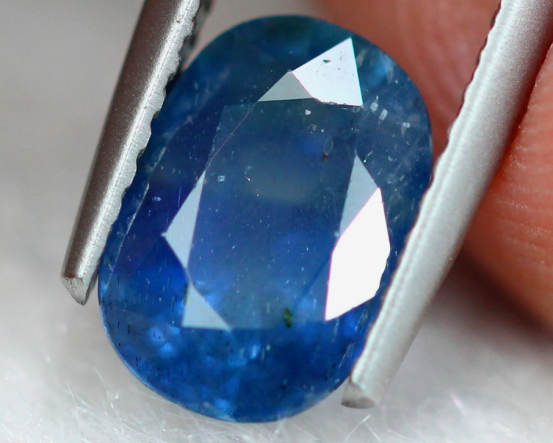 2.46ct Natural Blue Sapphire Oval Cut Lot S164