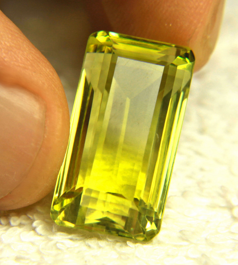 31.17 Carat African VVS Lemon Quartz - Gorgeous