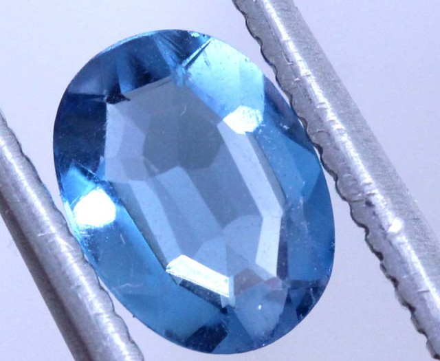 0.85 CTS BLUE FACETED ZIRCON CAMBODIA RNG-449