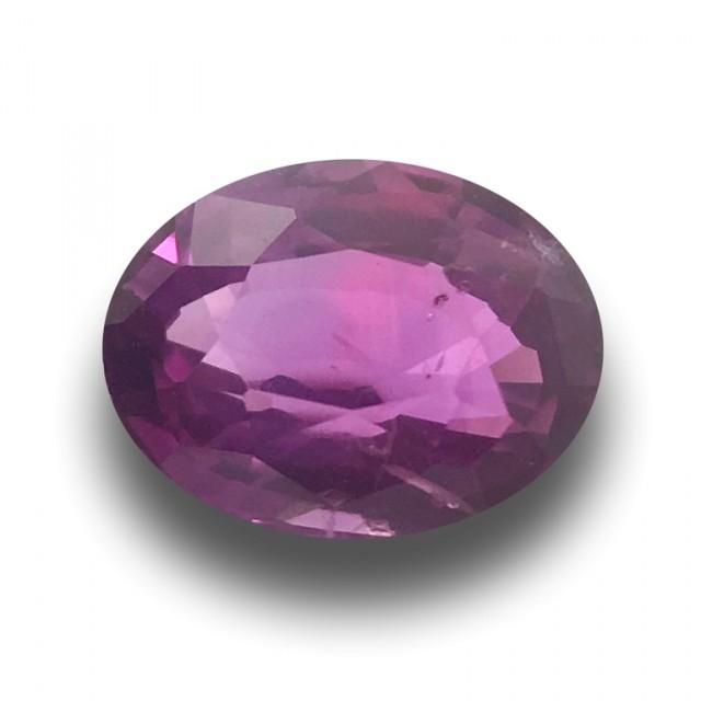 1.35 Carats | Natural Purple Sapphire | Loose Gemstone | Sri Lanka Ceylon -