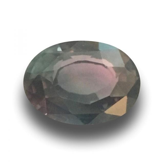 Natural Rare Multicolored Green Sapphire  Loose Gemstone   Sri Lanka
